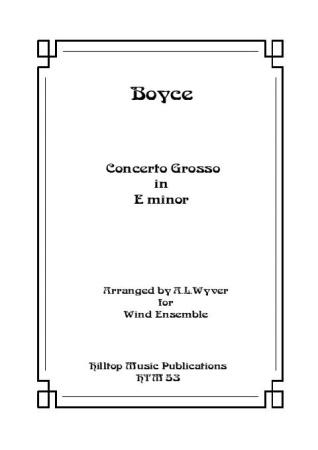 CONCERTO GROSSO in E minor