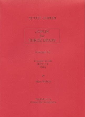 JOPLIN FOR THREE (score & parts)