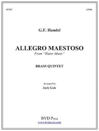 ALLEGRO MAESTOSO from 'Water Music'