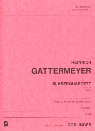 QUARTETT Op.81 No.2 (set of parts)