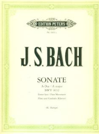 SONATA in A BWV1032 first movement