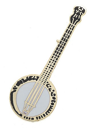 MINI PIN Banjo