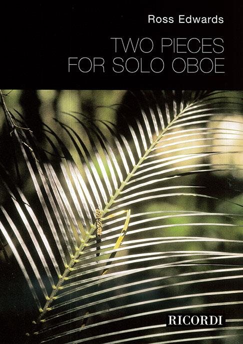 TWO PIECES for Solo Oboe