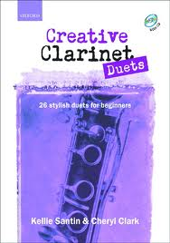 CREATIVE CLARINET DUETS + CD