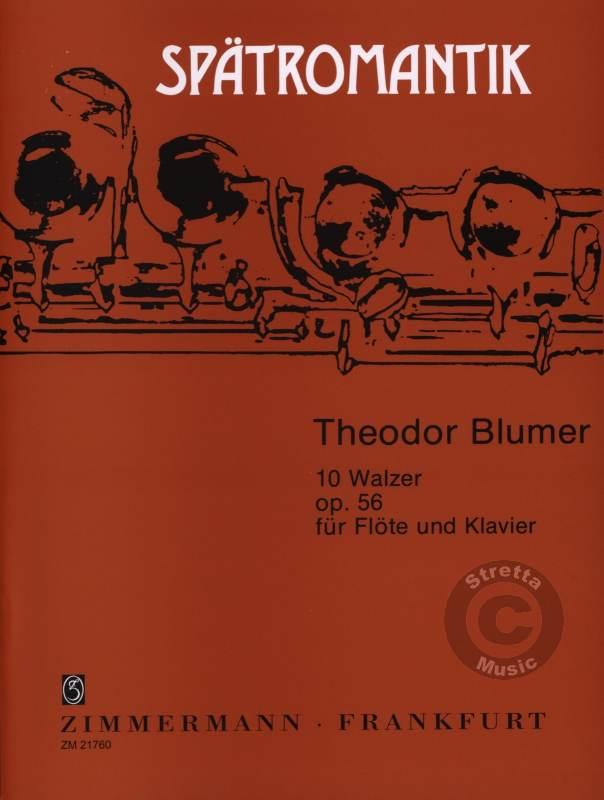 TEN WALTZES/ZEHN WALTZER Op.56
