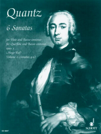 SIX SONATAS Op.1 Volume 2 (Nos.4-6)