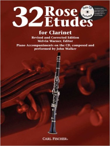 32 ROSE ETUDES + Online Audio