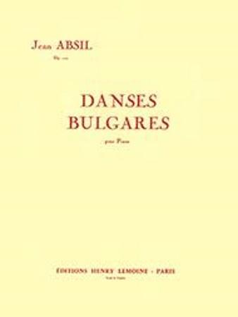 DANSES BULGARES Op.103 (score & parts)