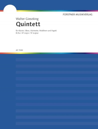 QUINTET in Bb major (score & parts)