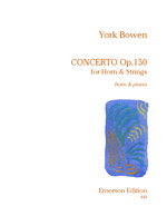 CONCERTO for Horn and Strings Op.150