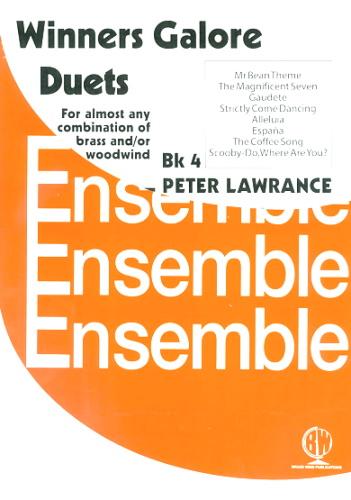 WINNERS GALORE Duets Book 4 - Parts E & F (playing score)