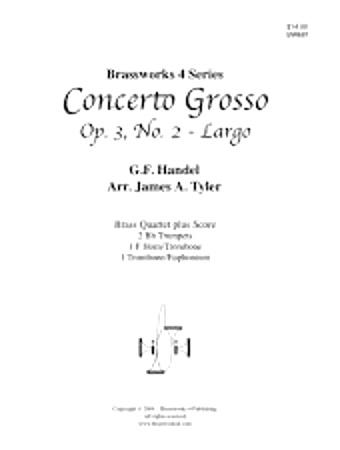 CONCERTO GROSSO Op.3, No.2 Largo