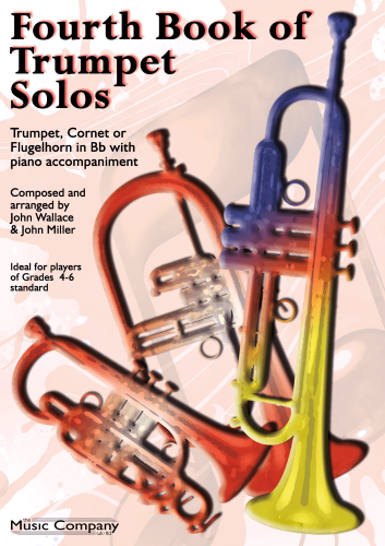 FOURTH BOOK OF TRUMPET SOLOS Solo Book