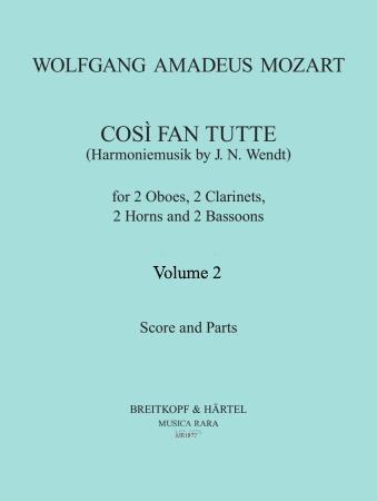 COSI FAN TUTTE Volume 2