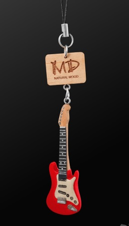 WOODEN STRAP Electric Guitar (Red)
