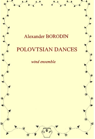 POLOVTSIAN DANCES (score & parts)