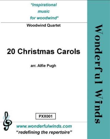 20 CHRISTMAS CAROLS (score & parts)