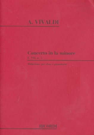 CONCERTO in A minor FVII/5 PV42 RV461 Op.39 No.2