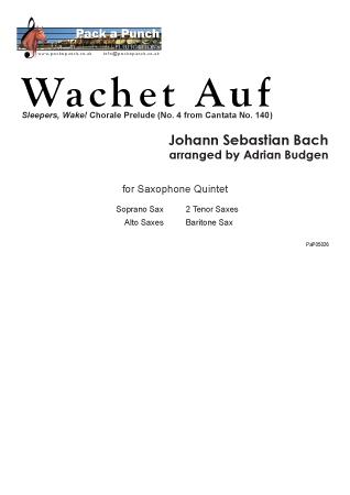 WACHET AUF (score & parts_