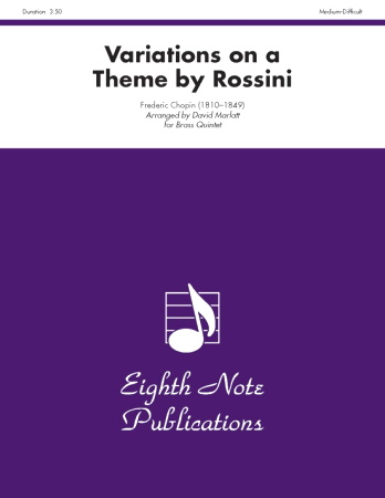 VARIATIONS ON A THEME BY ROSSINI
