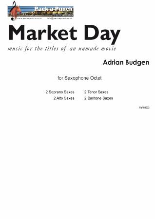 MARKET DAY (score & parts)