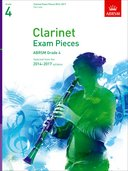 CLARINET EXAM PIECES 2014-2017 Grade 4 - part only