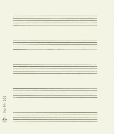 MANUSCRIPT POST-IT PAD 50 Sticky Sheets