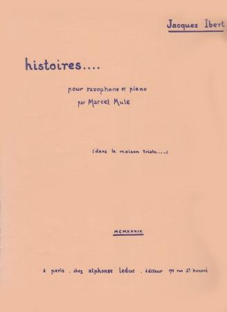 HISTOIRES: Dans la Maison Triste
