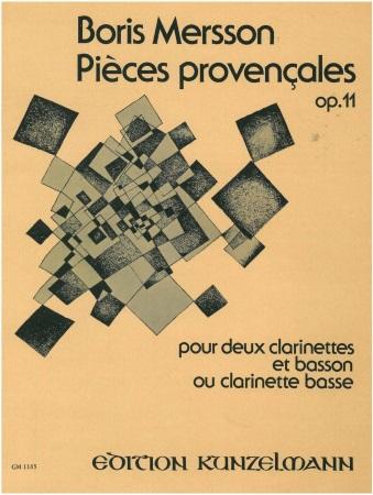 PIECES PROVENCALES Op.11 (score & parts)