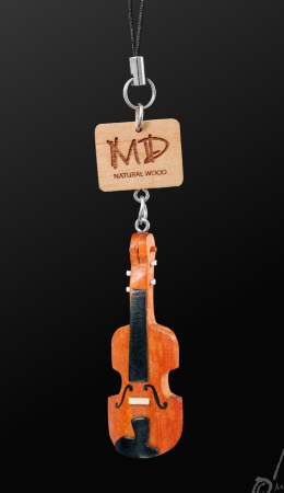 WOODEN STRAP Violin (3D Red)