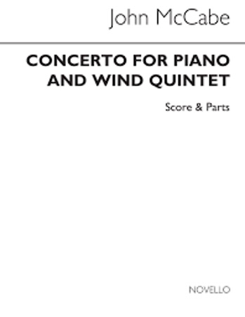 CONCERTO FOR PIANO & WIND QUINTET score only