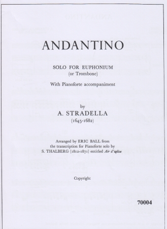 ANDANTINO (treble/bass clef)