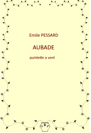 AUBADE (score & parts)