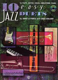 10 EASY JAZZ DUETS + CD (C Edition)
