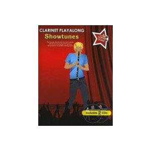 SHOWTUNES Clarinet Playalong + CD