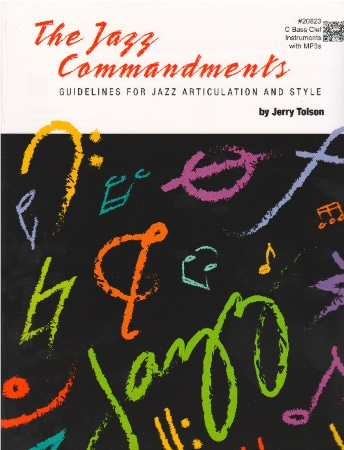 THE JAZZ COMMANDMENTS C Edition (bass clef)