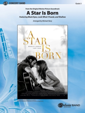 A STAR IS BORN (score & parts)