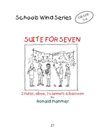 SUITE FOR SEVEN (score & parts) - Digital Edition