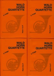 WALDHORN QUARTETTE Book 2