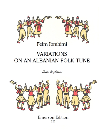 VARIATIONS ON AN ALBANIAN FOLK TUNE