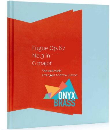 FUGUE in G major Op.87 No.3 (score & parts)
