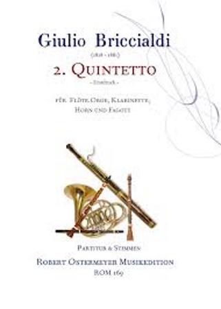 QUINTETTO No.2 Op.132 (score & parts)