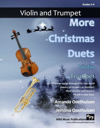 MORE CHRISTMAS DUETS for Trumpet & Violin