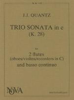 TRIO SONATA in e minor (K28)