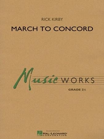 MARCH TO CONCORD (score)
