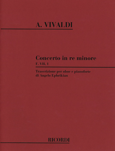 CONCERTO in D minor FVII/1 PV259 RV454 Op.8 No.9