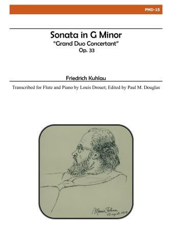 SONATA in G minor Op.33 Grand Duo Concertant
