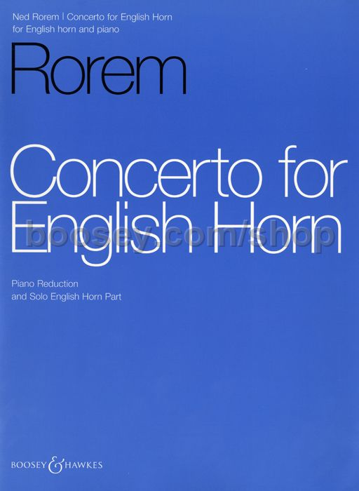 CONCERTO FOR ENGLISH HORN