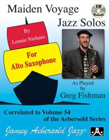 MAIDEN VOYAGE JAZZ SOLOS (Alto) + CD