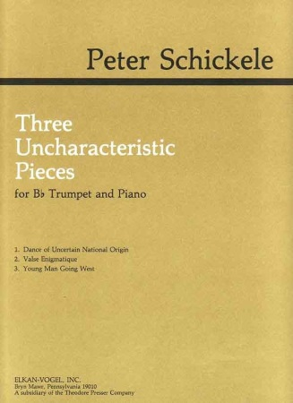 THREE UNCHARACTERISTIC PIECES